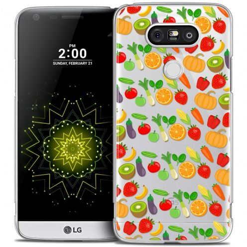 Coque Crystal LG G5 Extra Fine Foodie - Healthy
