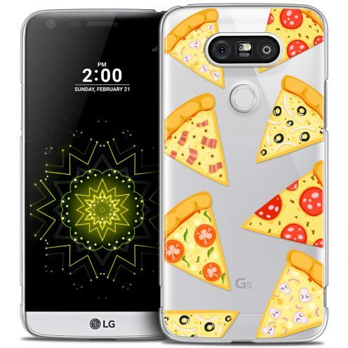 Coque Crystal LG G5 Extra Fine Foodie - Pizza