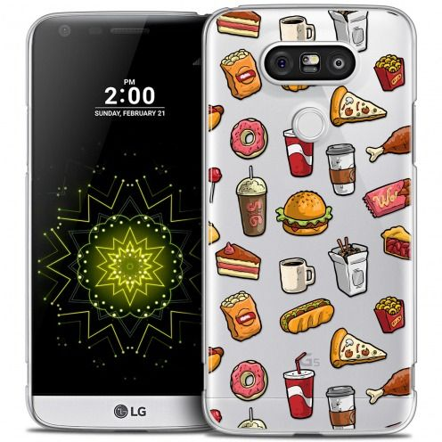 Coque Crystal LG G5 Extra Fine Foodie - Fast Food