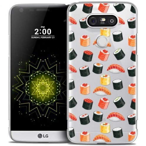 Coque Crystal LG G5 Extra Fine Foodie - Sushi