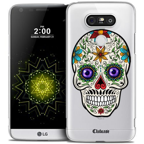 Coque Crystal LG G5 Extra Fine Skull - Maria's Flower