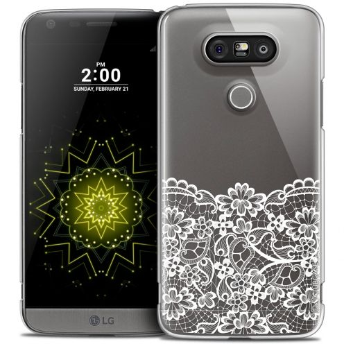 Coque Crystal LG G5 Extra Fine Spring - Bas dentelle