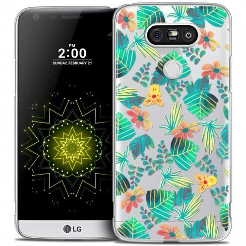 Coque Crystal LG G5 Extra Fine Spring - Tropical