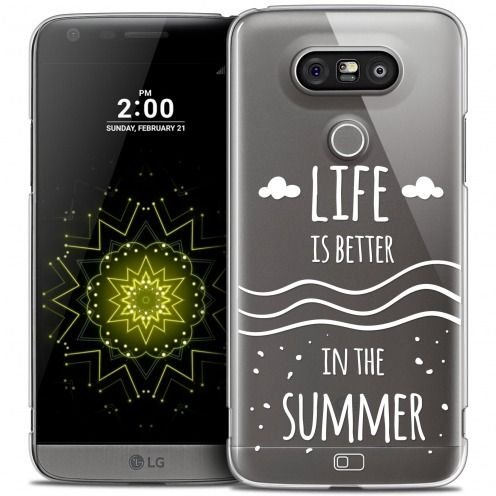 Coque Crystal LG G5 Extra Fine Summer - Life's Better
