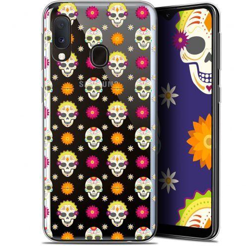 "Coque Gel Samsung Galaxy A20E (5.8"") Extra Fine Halloween - Skull Halloween"