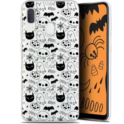 "Coque Gel Samsung Galaxy A20E (5.8"") Extra Fine Halloween - Spooky"