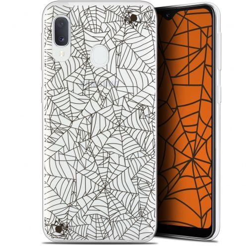 "Coque Gel Samsung Galaxy A20E (5.8"") Extra Fine Halloween - Spooky Spider"