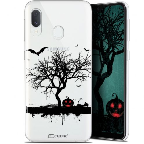 "Coque Gel Samsung Galaxy A20E (5.8"") Extra Fine Halloween - Devil's Tree"
