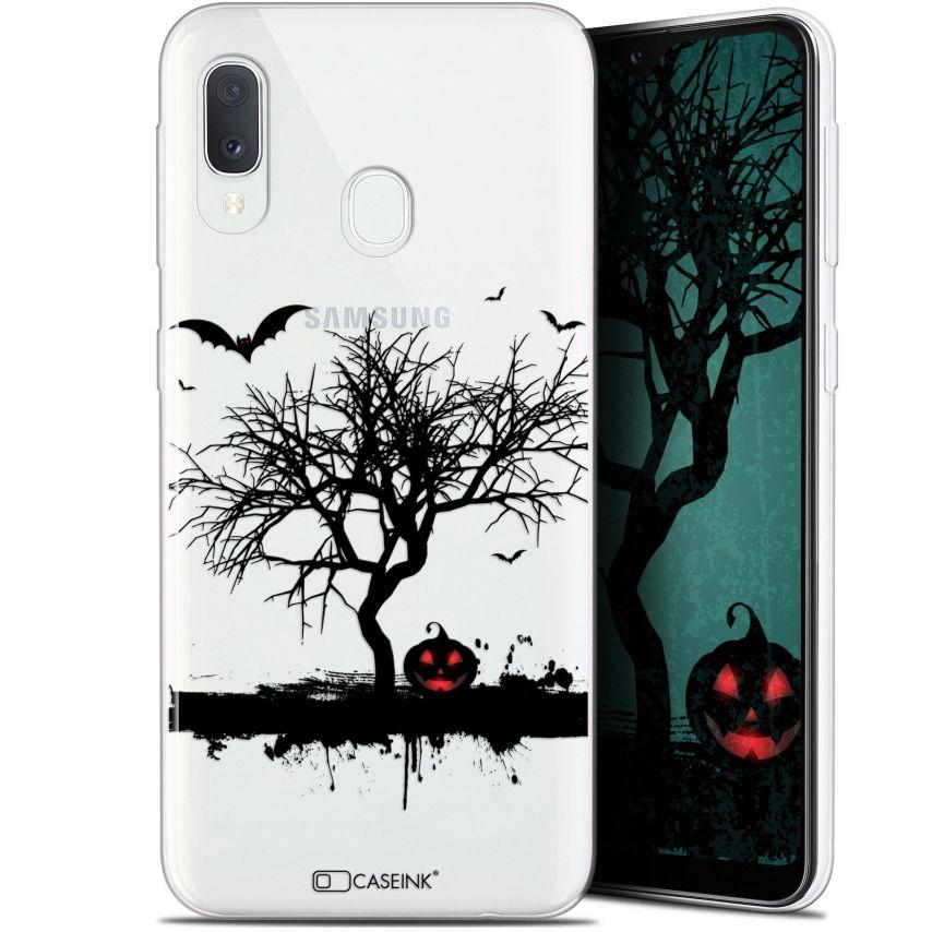 "Coque Gel Samsung Galaxy A20E (5.8"") Extra Fine Halloween - Devil's Tree"
