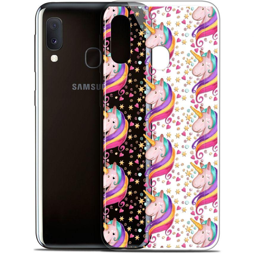 """Coque Gel Samsung Galaxy A20E (5.8"""") Extra Fine Fantasia - Licorne Etoilée"""