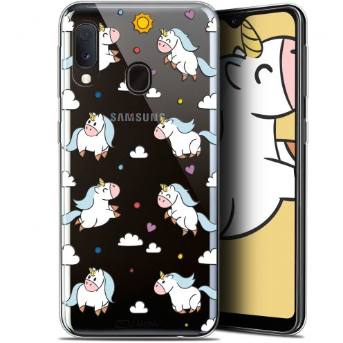 "Coque Gel Samsung Galaxy A20E (5.8"") Extra Fine Fantasia - Licorne In the Sky"