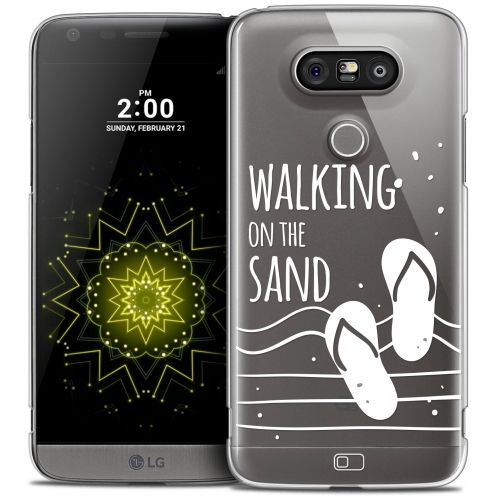 Coque Crystal LG G5 Extra Fine Summer - Walking on the Sand