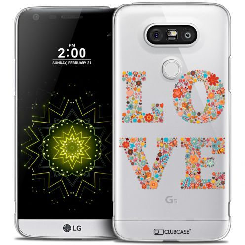 Coque Crystal LG G5 Extra Fine Summer - Love Flowers