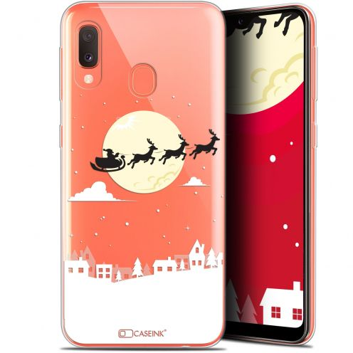 "Coque Gel Samsung Galaxy A20E (5.8"") Extra Fine Noël 2017 - Flying Stanta"