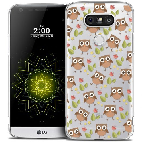 Coque Crystal LG G5 Extra Fine Summer - Hibou