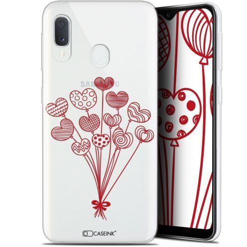 "Coque Gel Samsung Galaxy A20E (5.8"") Extra Fine Love - Ballons d'amour"