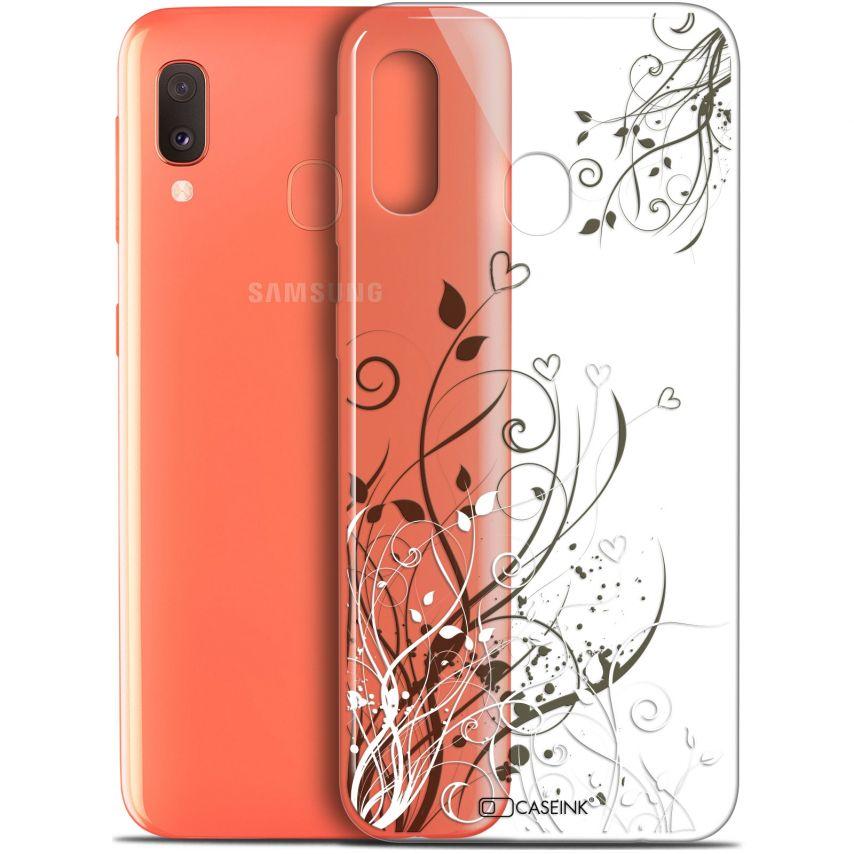 "Coque Gel Samsung Galaxy A20E (5.8"") Extra Fine Love - Hearts Flowers"