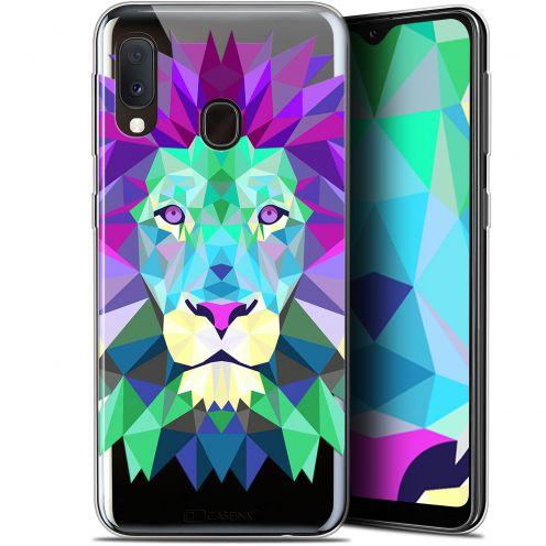 "Coque Gel Samsung Galaxy A20E (5.8"") Extra Fine Polygon Animals - Lion"