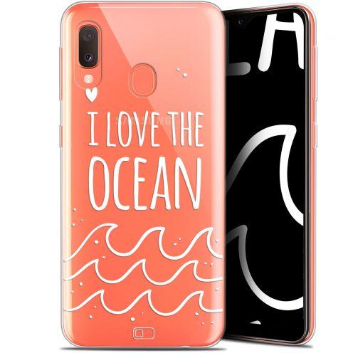 "Coque Gel Samsung Galaxy A20E (5.8"") Extra Fine Summer - I Love Ocean"
