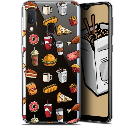 """Coque Gel Samsung Galaxy A20E (5.8"""") Extra Fine Foodie - Fast Food"""