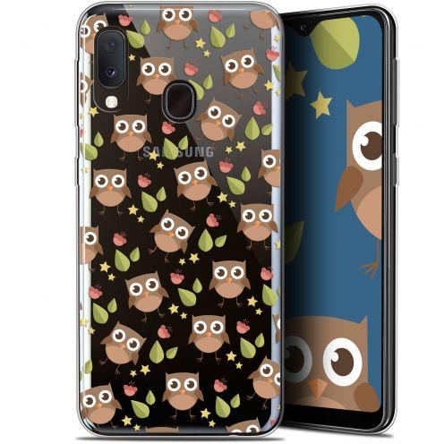 "Coque Gel Samsung Galaxy A20E (5.8"") Extra Fine Summer - Hibou"