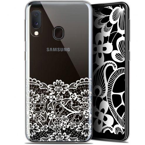"Coque Gel Samsung Galaxy A20E (5.8"") Extra Fine Spring - Bas dentelle"