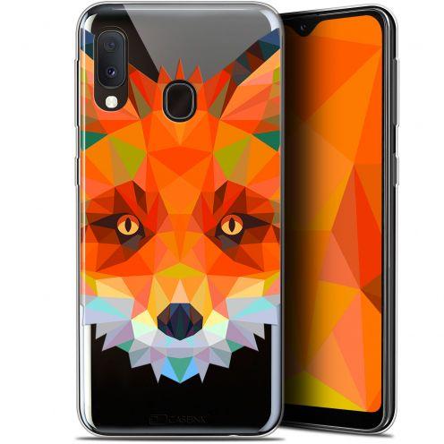 "Coque Gel Samsung Galaxy A20E (5.8"") Extra Fine Polygon Animals - Renard"
