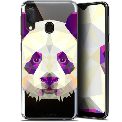 "Coque Gel Samsung Galaxy A20E (5.8"") Extra Fine Polygon Animals - Panda"