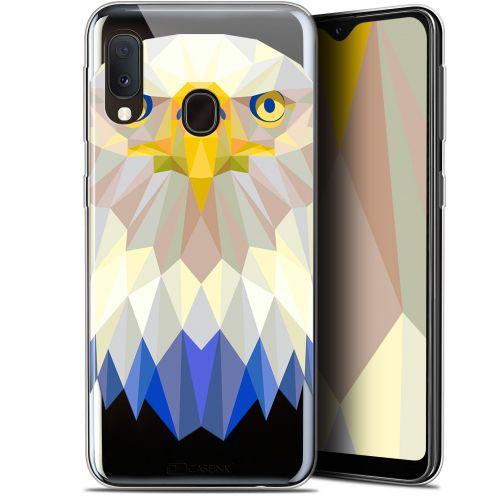 "Coque Gel Samsung Galaxy A20E (5.8"") Extra Fine Polygon Animals - Aigle"