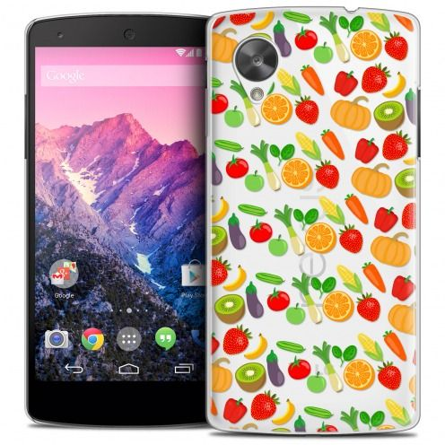 Coque Crystal Nexus 5 Extra Fine Foodie - Healthy