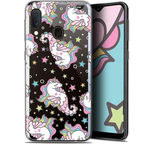 """Coque Gel Samsung Galaxy A20E (5.8"""") Extra Fine Motif - Licorne Dormante"""