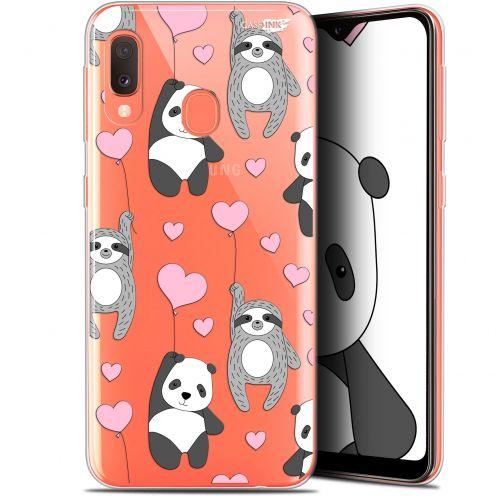 """Coque Gel Samsung Galaxy A20E (5.8"""") Extra Fine Motif -  Panda'mour"""