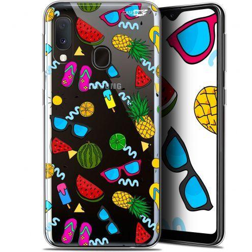 "Coque Gel Samsung Galaxy A20E (5.8"") Extra Fine Motif -  Summers"