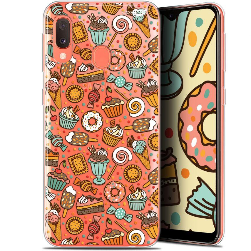 "Coque Gel Samsung Galaxy A20E (5.8"") Extra Fine Motif - Bonbons"