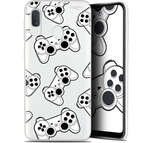 """Coque Gel Samsung Galaxy A20E (5.8"""") Extra Fine Motif -  Game Play Joysticks"""