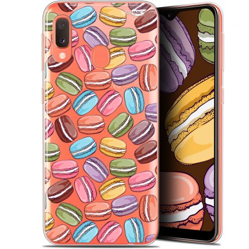 """Coque Gel Samsung Galaxy A20E (5.8"""") Extra Fine Motif - Macarons"""
