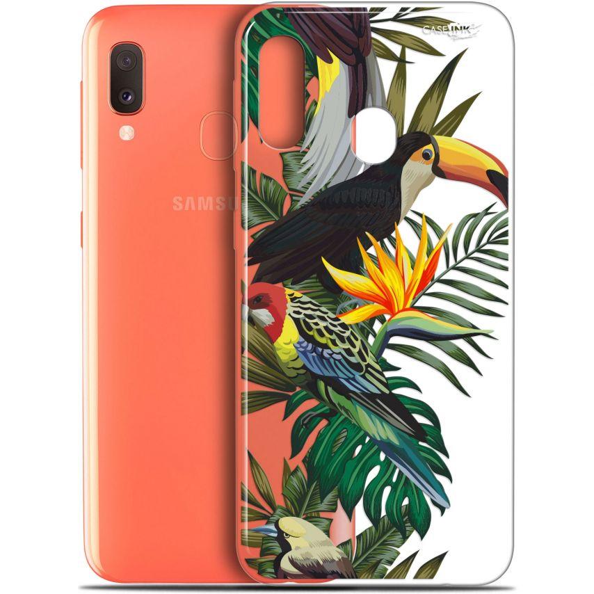 """Coque Gel Samsung Galaxy A20E (5.8"""") Extra Fine Motif - Toucan Tropical"""