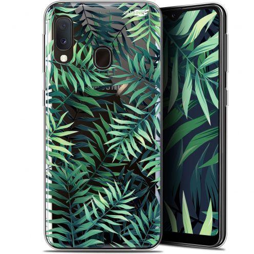 """Coque Gel Samsung Galaxy A20E (5.8"""") Extra Fine Motif - Feuilles des Tropiques"""
