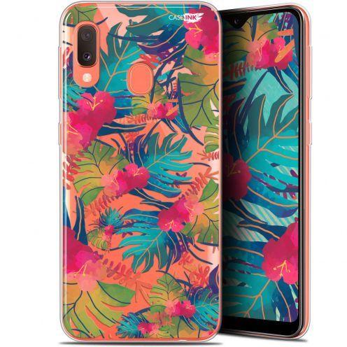 "Coque Gel Samsung Galaxy A20E (5.8"") Extra Fine Motif - Couleurs des Tropiques"
