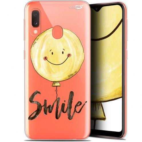 """Coque Gel Samsung Galaxy A20E (5.8"""") Extra Fine Motif -  Smile Baloon"""