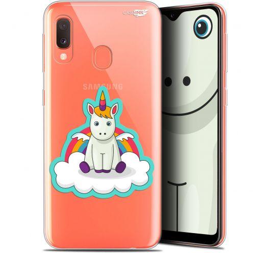 """Coque Gel Samsung Galaxy A20E (5.8"""") Extra Fine Motif -  Bébé Licorne"""