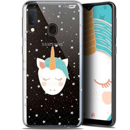 """Coque Gel Samsung Galaxy A20E (5.8"""") Extra Fine Motif -  Licorne Dors"""
