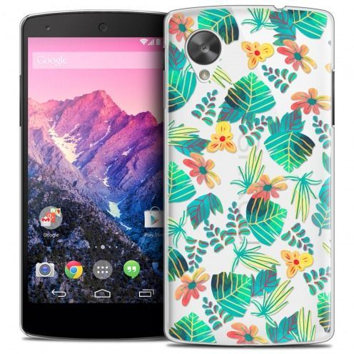 Coque Crystal Nexus 5 Extra Fine Spring - Tropical