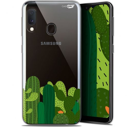 """Coque Gel Samsung Galaxy A20E (5.8"""") Extra Fine Motif -  Cactus"""
