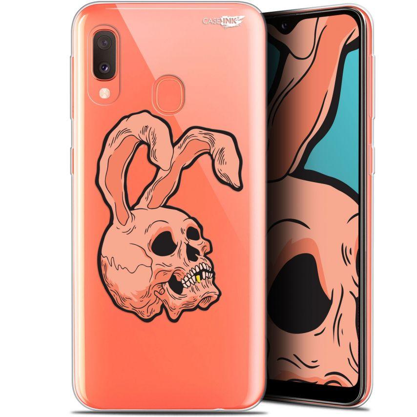 "Coque Gel Samsung Galaxy A20E (5.8"") Extra Fine Motif - Rabbit Skull"