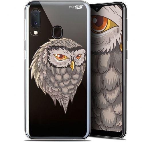 """Coque Gel Samsung Galaxy A20E (5.8"""") Extra Fine Motif -  Hibou Draw"""