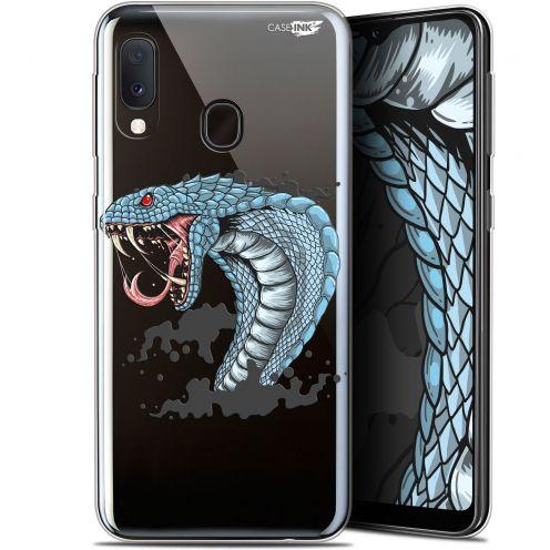 """Coque Gel Samsung Galaxy A20E (5.8"""") Extra Fine Motif -  Cobra Draw"""