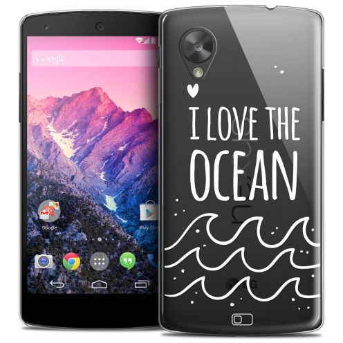 Coque Crystal Nexus 5 Extra Fine Summer - I Love Ocean