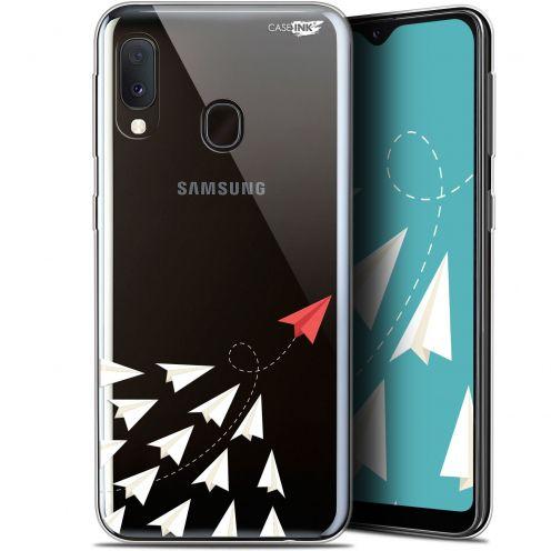 """Coque Gel Samsung Galaxy A20E (5.8"""") Extra Fine Motif -  Papier Volant"""