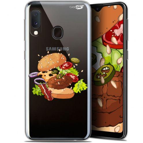 "Coque Gel Samsung Galaxy A20E (5.8"") Extra Fine Motif -  Splash Burger"